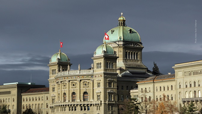 Swiss Parliament Building Bern